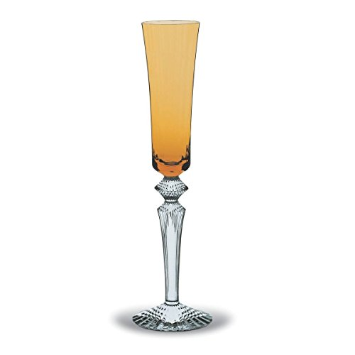 Barware Mille (BACCARAT MILLE NUITS FLUTISSIMO FLUTE, AMBER, BRAND NEW MADE IN FRANCE.)