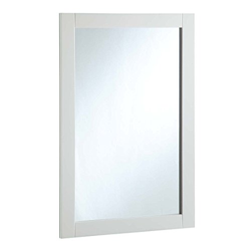 Design House 547208 20 30-inch Vanity Mirror, Semi-Gloss -