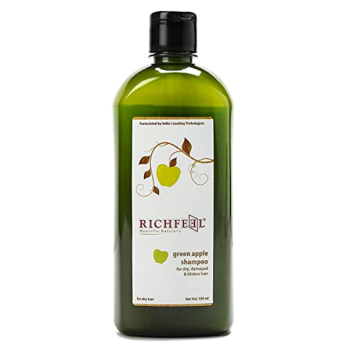 Richfeel   Green Apple Shampoo, 500 ml