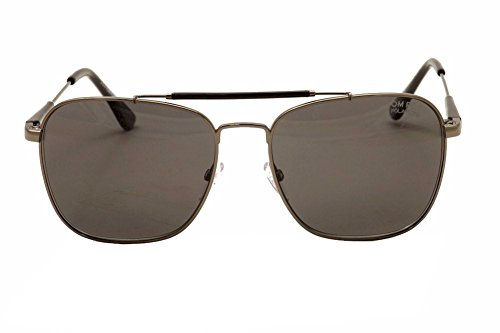 77f7ca9626 Amazon.com  Tom Ford 09D Gunmetal-black polarised Edward - Gunmetal  Sunglasses  Sports   Outdoors