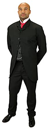 Men's Steampunk Costume Essentials Callahan Cutaway Sack Coat $139.95 AT vintagedancer.com