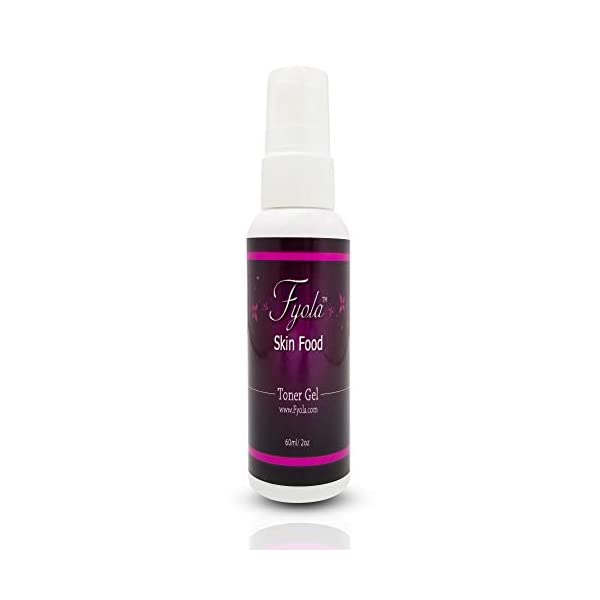 Moisterizing Toning Gel Fyola [Made In Canada] Dermatologist Recommended - NOW Bigger and Better (15ml/1oz) 100% Natural Ingredients, For Skin Firming and Toning - Anti-Aging Skin Care Product