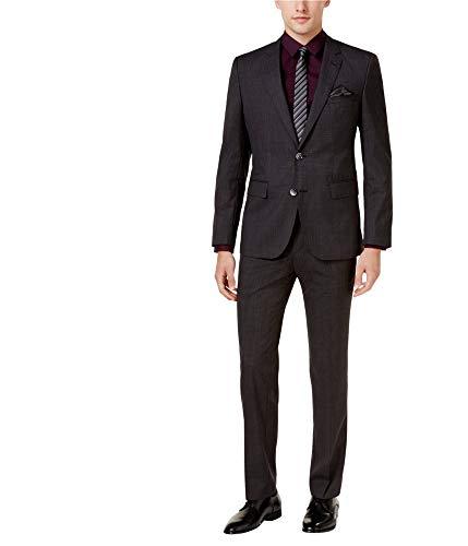 Hugo Boss Mens Slim-Fit Two Button Blazer Jacket Grey ()