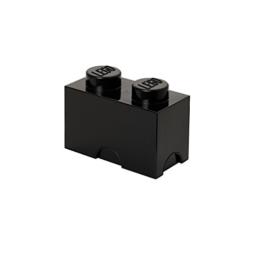 LEGO Storage Brick 2 Black