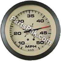 Sierra International 61901P Sahara Scratch Resistant Systems Check Gauge for Johnson/Evinrude, 3''