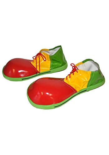 Tri-Color Clown Shoes