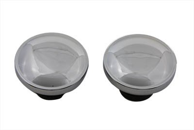 V-Twin 38-0321 Ratcheting Style Gas Cap Set Vented And (Quickbob Tank)