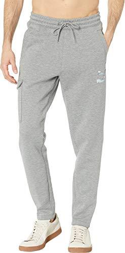 PUMA Men's Classics Pocket Pants OH Medium Grey Heather XX-Large 30