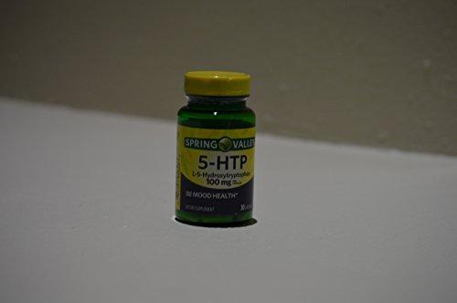 Spring Valley Natural 5-HTP/L-5-Hydroxytryptophan, 200mg, 30 - Hydroxytryptophan 30 Mg Capsules 100