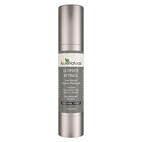 Price comparison product image Azure Naturals Ultimate Retinol Lime infused Organic Moisturizer, 1.7 fl. Oz