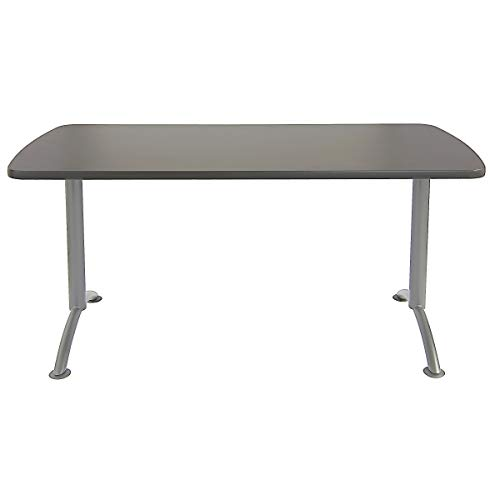 Iceberg ICE69217 ARC 5-foot Rectangular Conference Table, 30'' x 60'', Graphite/Silver Leg by Iceberg (Image #2)