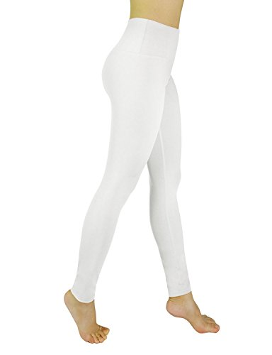 32414f4d4d9b7f REETOYO High Waist Yoga Pants with Side Pockets Tummy Control Workout  Running 4 Way Stretch Yoga