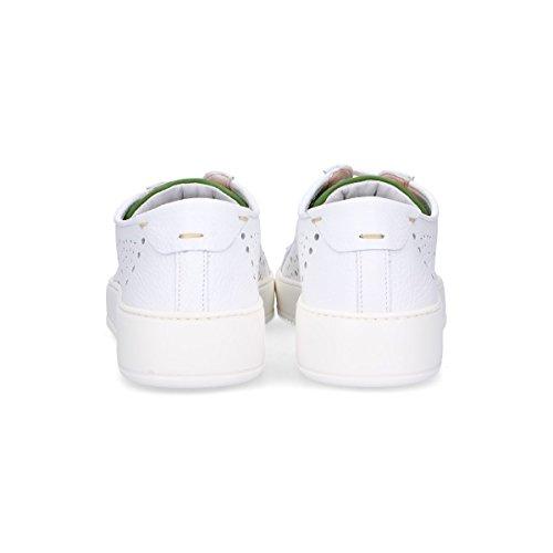 Roberto Botticelli Uomo Lu35610726 Sneakers In Pelle Bianca