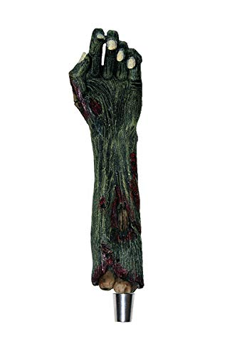 Commercial Zombie Arm Beer Tap Handle for Kegerators and Bars Dead Skeleton Hand Walking