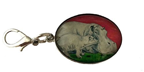 Animal Zipper Pull, Bag Charm with Lobster Claw Clasp - Bag Jewelry - Wearable Art