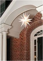 Advent Stars Moravian Star Indoor/outdoor Christmas Decoration Light, 21-inches ()