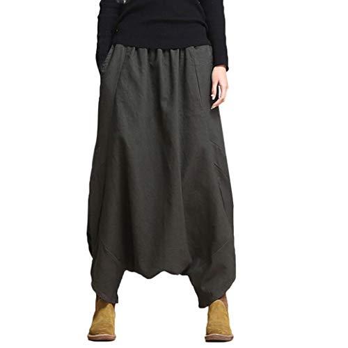 (Women's Harem Pants, Loose Yoga Festival Baggy Boho Retro Gypsy Trousers by-NEWONESUN)
