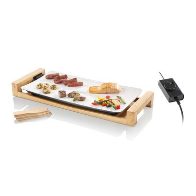 Swissmar Bamboo (Fusion 6 Person Ceramic Top Table Grill)