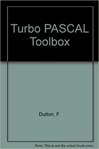 Turbo Pascal Toolbox Subsequent Edition