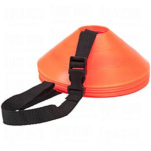 Kwik Goal Strap Cone Carrier Black