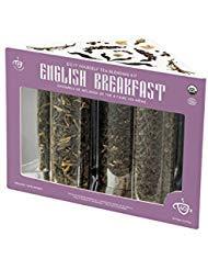 Tea It Yourself (TIY) - Organic Black Tea Making Kit - Create Your Own Tea - English Breakfast