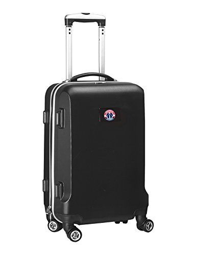 NBA Washington Wizards Carry-On Hardcase Spinner, Black by Denco
