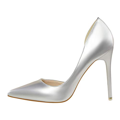 MGM Femme Bas Joymod Silver 39 Argenté 8w8PErq