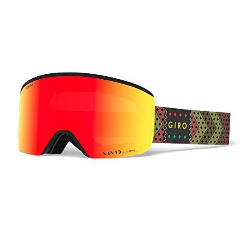 Giro Axis Snow Goggles Mo' Rasta - Vivid Ember/Vivid Infrared - Rasta Ski