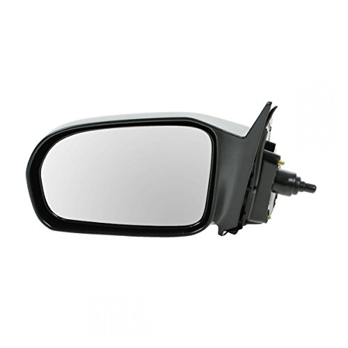 Manual Remote Side Door Mirror Left LH Driver Side for 01-05 Honda Civic Coupe ()
