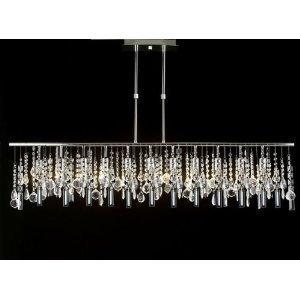 Modern contemporary linear crystal chandelier chandeliers lighting modern contemporary linear crystal chandelier chandeliers lighting lamp ceiling light lamp hanging fixture 230v h71 aloadofball Gallery