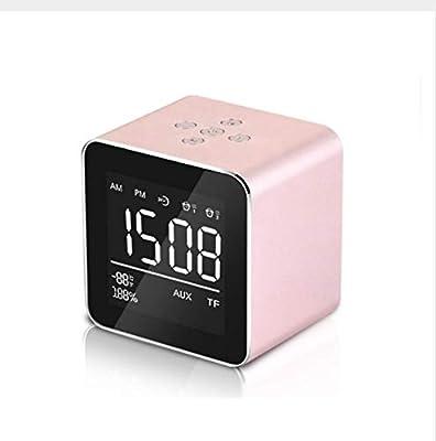 hznzh con Mesa De Soporte Reloj Despertador USB Reloj Despertador ...