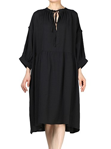 Mordenmiss Womens Casual Drawsting Neckline product image
