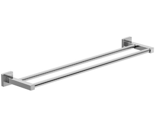 80 off symmons 363dtb 18 duro double towel bar 18 inch chrome. Black Bedroom Furniture Sets. Home Design Ideas