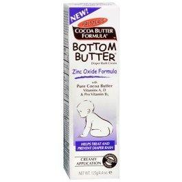 Beurre Bottom - Oxyde de Zinc érythème fessier - aide à traiter et prévenir l'érythème fessier, 4,4 oz, (de Palmer)