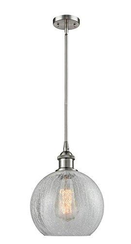 Crackle Glass Globe Pendant Light in US - 9