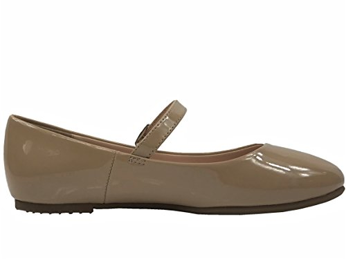 Classified Dk Round Toe City Beige Ballet Mary Patent Flats Jane Ballarina dtSqHxpn8H