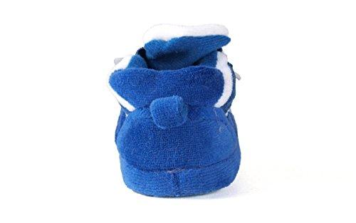 Comfy Feet DUK03PR - Duke Blue Devils NCAA Happy Feet Baby Slippers - Image 3