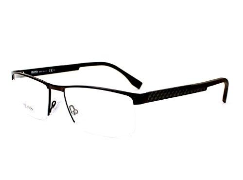 Eyeglasses Boss Black Boss 734 0KCR Brown - Boss Rimless Glasses Hugo