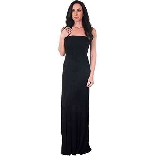 Women's Agiato 3-in-1 Maxi Dress Black XXLarge (Strapless Dress Xxl)
