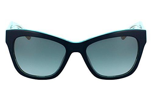 Óculos De Sol Nine West Nw582S 319/56 Verde Azulado
