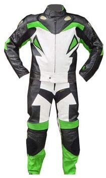 Protection CE Fabriqu/é sur Mesure Combinaison de Moto en Cuir pour Homme