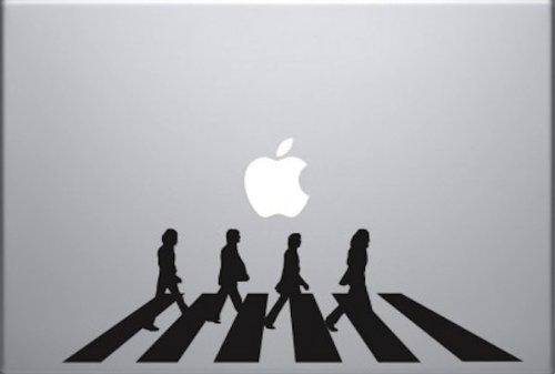 Beatles Abbey Road Vinyl Decal Skin for Apple Macbook Pro Air Laptop Computer