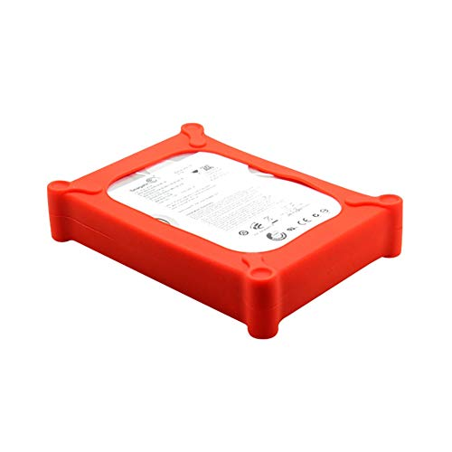 80g External Hard Drive - Facaily 3.5 Inch Hard Drive Disk Static-Free Shock Resistant Enclosure Portable Protective Storage Carrying Case