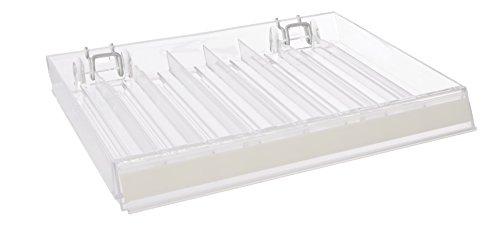 Azar Displays 225508-2pack 8-Compartment Nail Polish Tray...