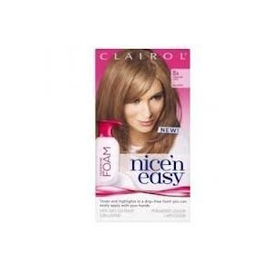 Clairol Nice'n Easy Colour Blend Foam Permanent Hair Colour - Med Ash Blonde 8A by Procter & Gamble