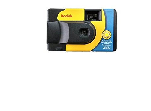 Kodak SUC Daylight 39 800iso Disposable Analog Camera – Yellow and Blue