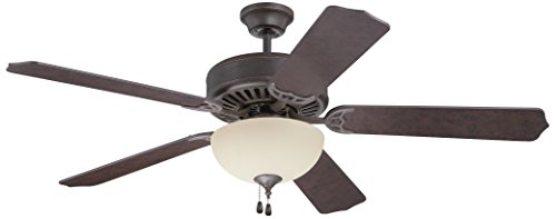 Craftmade C202AG Ceiling Fan with Blades Sold Separately, 52