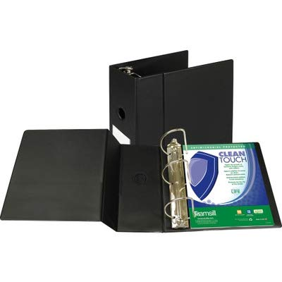 SAM16300 - Samsill Clean Touch Antimicrobial Locking D-Ring Binder
