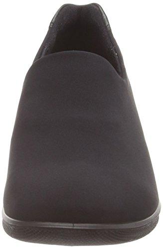 ECCO Babett Wedge Pantofole con Imbottitura Leggera, Donna, Nero(Black/Black 53994), 42