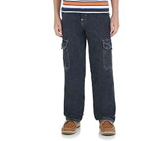 Wrangler Husky Boys' Classic Cargo Jeans by Nocturne 14 Slim